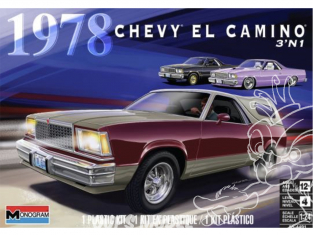 Revell US maquette voiture 4491 1978 Chevy El Camino 3N1 1/25