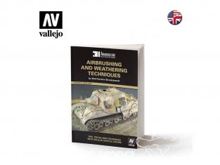 Vallejo Librairie 75002 Techniques d'aérographe et de vieillissement en langue Anglaise