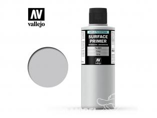 Vallejo Surface Primer 74.601 Appret acrylique Polyuréthane Gris 200ml