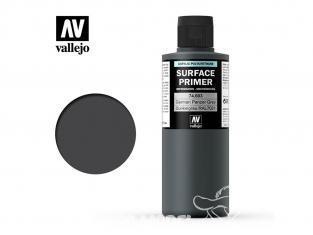 Vallejo Surface Primer 74.603 Appret acrylique Polyuréthane Gris Allemand Panzer RAL7021 200ml
