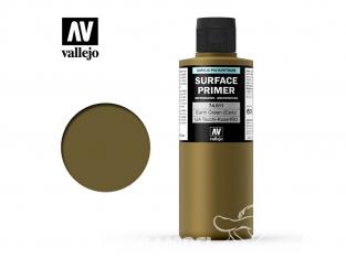 Vallejo Surface Primer 74.611 Appret acrylique Polyuréthane IJA - TSUCHI - KUSA - IRO Terre verte (Début) 200ml