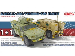 RPG-Model maquette militaire 35019 Typhoon VDV Familly Part.1 1/35
