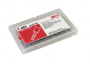 RPG-Model outillage T-001 Lot de méches de 0,3mm a 1,2mm