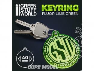 Green Stuff 503400 Porte-clés ROND VERT