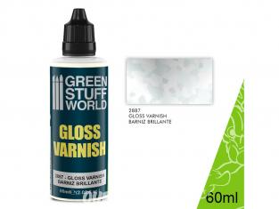 Green Stuff 502472 Vernis Brillant 60ml