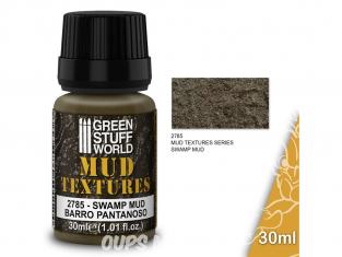 Green Stuff 501451 Textures de boue BOUE DES MARAIS 30ml