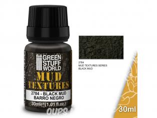 Green Stuff 501444 Textures de boue BOUE NOIRE 30ml