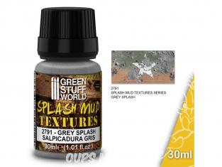 Green Stuff 501512 Textures de boue BOUE GRIS 30ml