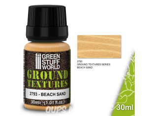 Green Stuff 501536 Textures de sable SABLE DE PLAGE 30ml