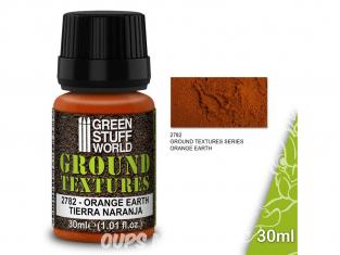 Green Stuff 501420 Textures de terre ORANGE EARTH 30ml