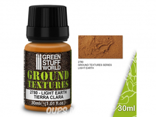 Green Stuff 501406 Textures de terre LIGHT EARTH 30ml