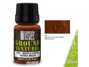 Green Stuff 501413 Textures de terre MIDDLE EARTH 30ml