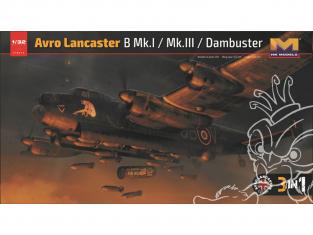 HK Models maquette avion 01E012 Avro Lancaster B MK. l MK.III 3in1 1/32