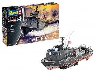 Revell bateau 05176 US Navy SWIFT BOAT Mk.I 1/72