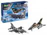 Revell maquette avion 05671 Ensemble-cadeau NATO Tiger Meet 60th Anniversaire Inclus peintures principale colle et pinceau 1/72