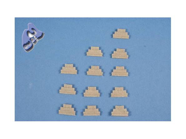 CMK Maquettes Bateau ml80305 ÉQUIPEMENTS DE DOCKS 1/72