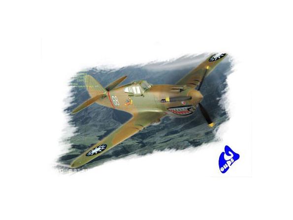 """Hobby Boss maquette avion 80209 P-40B/C """"HAWK""""-81A 1/72"""