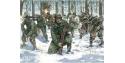 ITALERI maquette militaire 6133 U.S Infanterie en tenue hiver 1/72