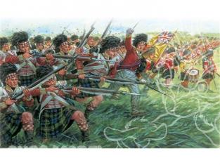 Italeri maquette historique 6136 Infanterie ecossaise 1/72