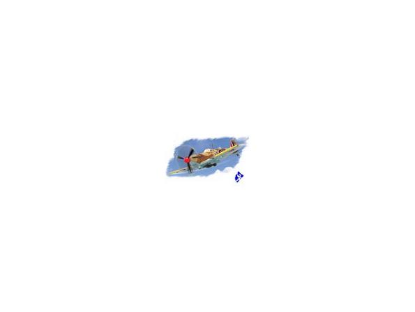 Hobby Boss maquette avion 80214 SPITFIRE MK.Vb TROP 1/72