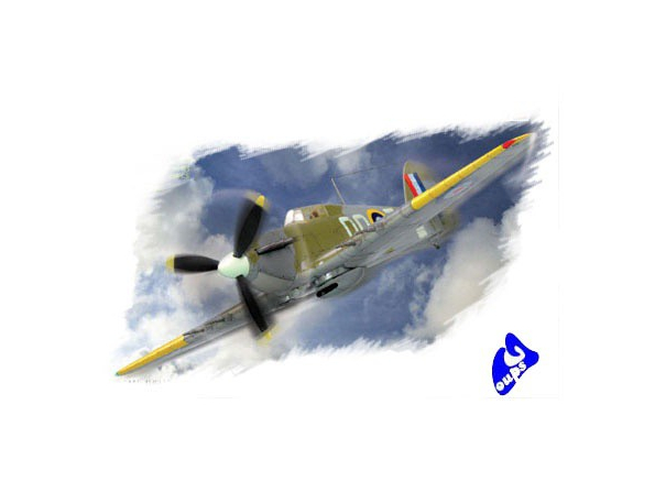 Hobby Boss maquette avion 80215 HURRICANE MK II 1/72