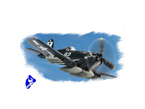 Hobby Boss maquette avion 80217 CORSAIR F4U-1D 1/72