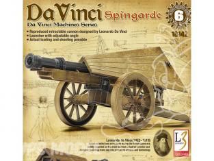 Academy maquette Da Vinci 18142 Canon retractable