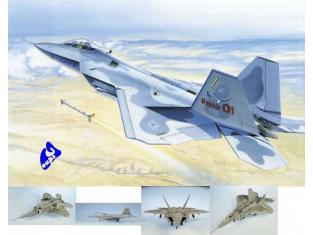 italeri maquette avion 0850 F-22 Raptor 1/48