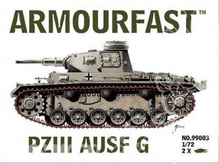Armourfast maquette militaire 99003 Panzerkampfwagen III 1/72