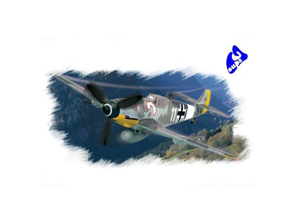 Hobby Boss maquette avion 80225 Messerschmitt Bf109 G-6 (début)
