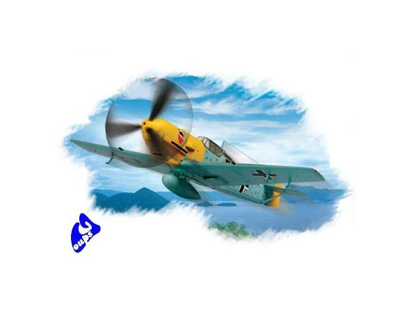Hobby Boss maquette avion 80253 Messerschmitt Bf109E-3 1/72