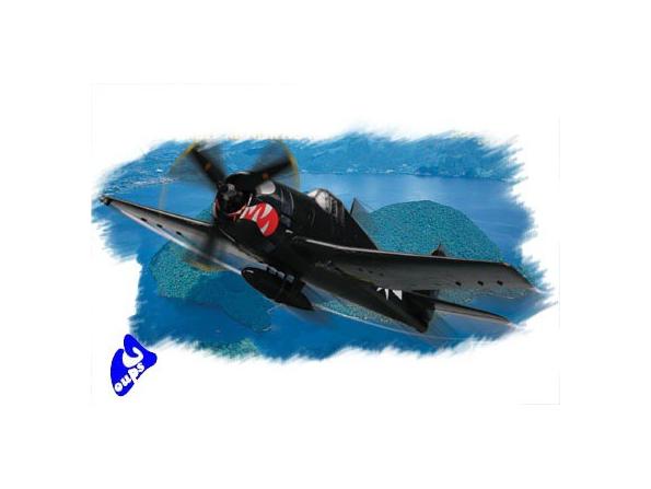 """Hobby Boss maquette avion 80260 F6F-5 """"Hellcat"""" 1/72"""