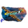 Hobby Boss maquette avion 80261 Messerschmitt Bf109 E4 TROP 1/72