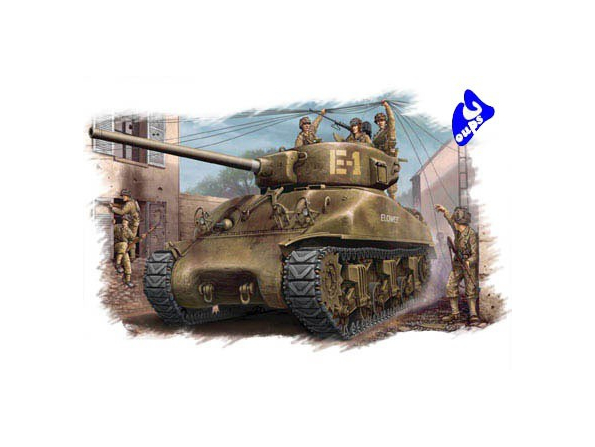 Hobby Boss maquette militaire 84801 M4A1 76(W) 1/48