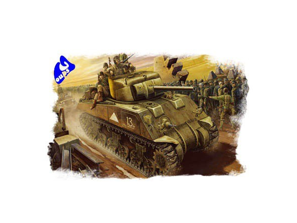 Hobby Boss maquette militaire 84802 M4 TANK 1/48
