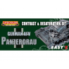 LIFECOLOR peinture MS02 Easy 3 German AFV Panzergrau