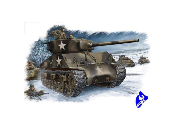 Hobby Boss maquette militaire 84805 M4A3 (76W) 1/48
