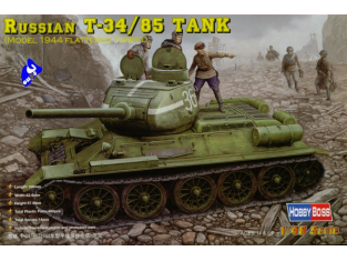 Hobby Boss maquette militaire 84807 T-34/85 1/48