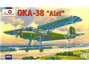 "Amodel maquettes avion 72211 ANTONOV OKA 38 ""AIST"" 1/72"