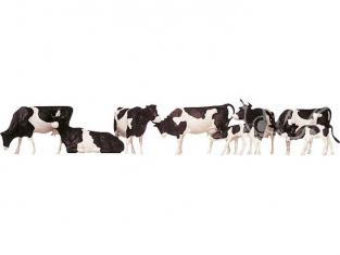 Faller 154003 Vaches tachetées de noir HO