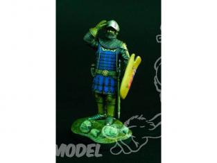 Verlinden maquette figurine historique 1062 Chevalier Hongrois 1360 120mm