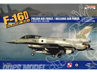 Kinetic maquette avion 72002 F-16D 1/72