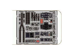 EDUARD photodecoupe 33028 F8F Interieur S.A. 1/32