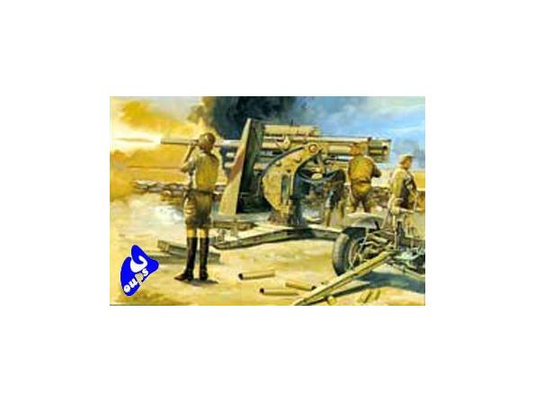 Hasegawa maquette militaire 31110 88mm GUN Flak 18 1/72