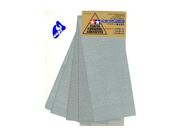 tamiya 87024 papier abrasif ultra fin