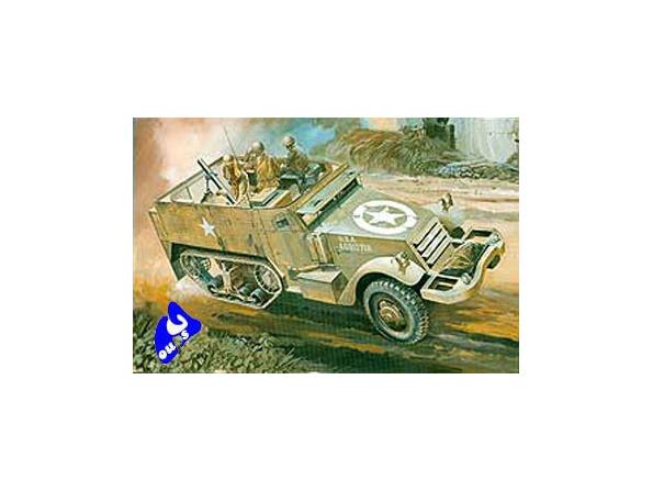 Hasegawa maquette militaire 31107 M4A1 HALF TRACK 1/72