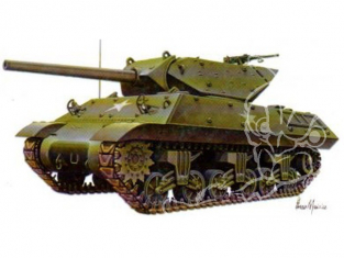 Armourfast maquette militaire 99004 M10 Wolverine 1/72