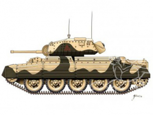 Armourfast maquette militaire 99026 Crusader II 1/72