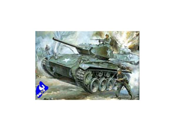 Hasegawa maquette militaire 31119 LIGHT TANK M24 CHAFFEE 1/72