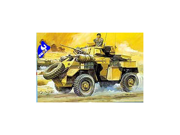 Hasegawa maquette militaire 31125 ARMOURED CAR HUMBER Mk.II 1/72